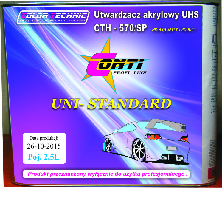 Utwardzacz CTH 570SP 25L